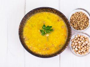 Steamed Lentil Soup