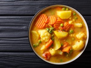 Pea Carrot and Potato Stew